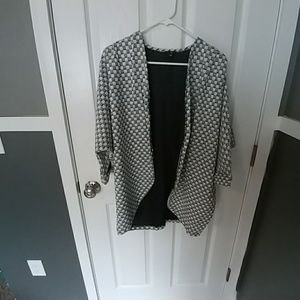 NWOT oversized open sweater